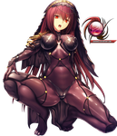 Fate Grand Order- Scathach Render by sharknex