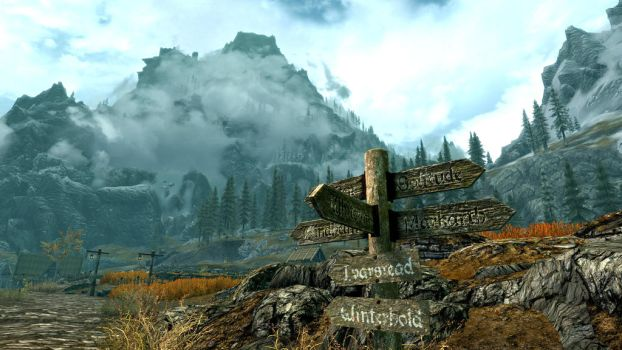 Welcome to Skyrim - 4K by RabidWeezle