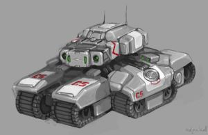 Siege Tank by Mr--Jack