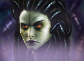 Queen of Blades by LeTipple
