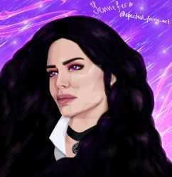 Yennefer by spectral-fairy