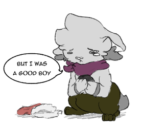 Not a very good boi by Wooled