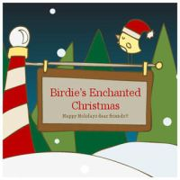 Birdie Christmas Template Free by arwenita