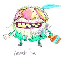 End of Dis character design - Wharfmaster Pe'tee by ChanterelleandMay