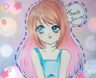 THANK YOU!!!! by PinkClaire-san