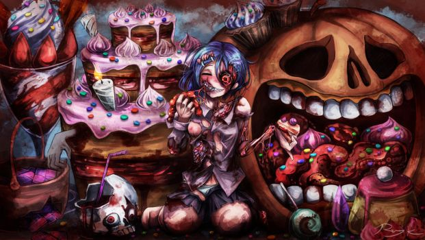 SweetRottenHalloween!! by Ray-kbys