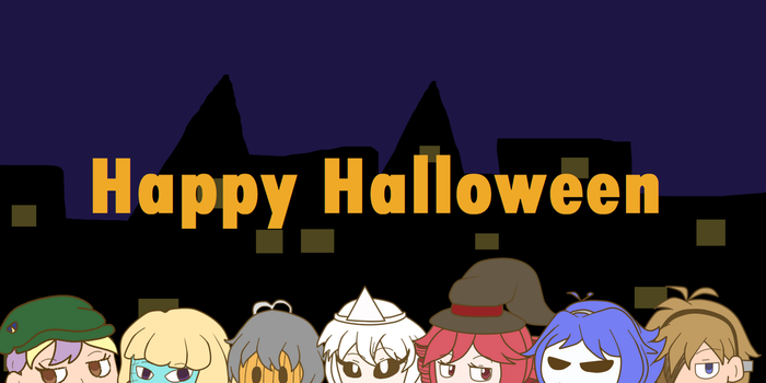Happy *late* Halloween by Francie-Notepad