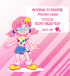 Animal Crossing pocket camp by 0okamiseishin