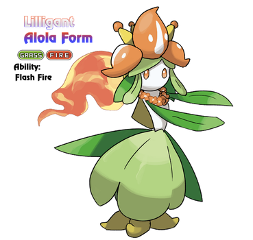 Lilligant - Alola Form by locomotive111