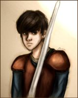 Art Trade - Edmund Pevensie by Until-The-Dark