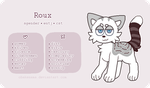 Roux - Reference Sheet by obakesama