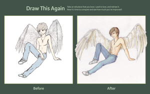 Draw this Again Challenge Accepted by camix