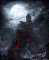 scary church by peterconcept