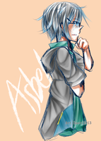 Asbel - doodle by Irooyo