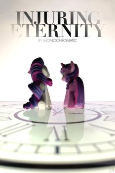'Injuring Eternity' - MLP fanfic cover art by SwanSongSonata