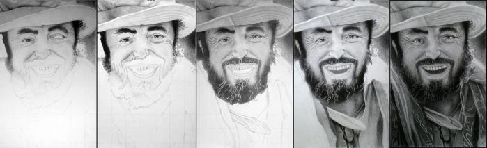 Young Pavarotti by Ihabiano