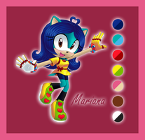 Mariana the Hedgehog by AngieR3741