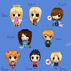 Rinspirit Art 6 4 More Chibis By
