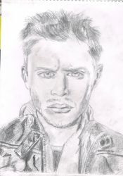 Jensen Ackles as Dean Winchester from Supernatural by soulmate1