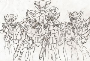 Medabots: The Five Dragon Knights by NeonNeoz