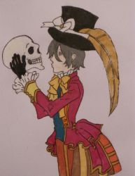 Ciel and Skull coloured version by thearabellablack