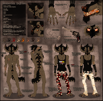 . Zachariah Kajitsu  - Reference sheet . by trA-amraK