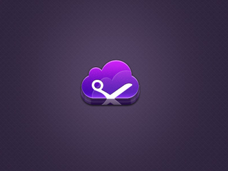 Cut the cloud icon by eXentrich