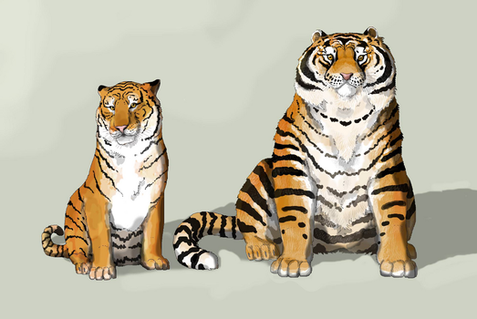 Future Zoo: The Exhibition Tiger by Sheather888