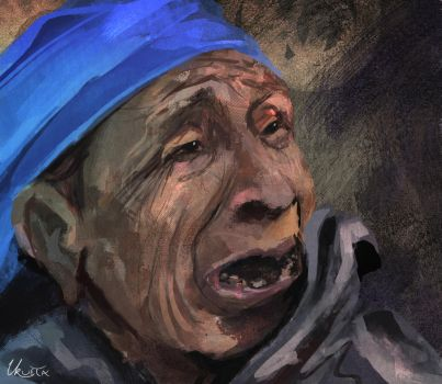Old Lady by KUMIKER