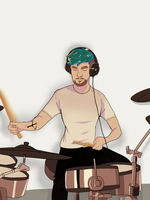 Jackaboy can play drums! by Jackid13