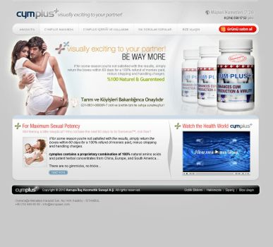 cymplus corporate web design by csavsar