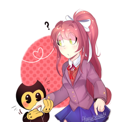 Eating The Anime Girl by KarlaDraws14