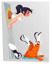Chell Stuck by Sodano