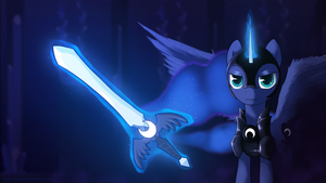 Luna - Fall of the Crystal Empire by MAKC-HUNTER