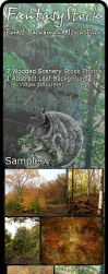 Forest Backgrounds Zip Pack 7 by FantasyStock