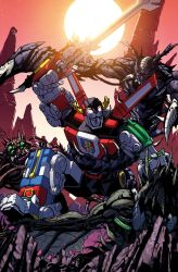 Voltron: FTA issue 2 cover by markerguru