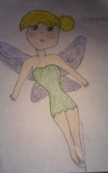 Tinkerbell by MinaThe-young-artist