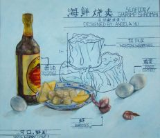 Shao Mai Blueprint by Swii