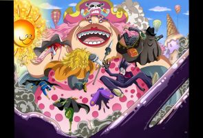 Big Mom vs Germa 66 /One Piece 870 by fernanpraa