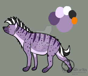 Hyena Halloween Adopt Auction - OPEN by RinnWorks