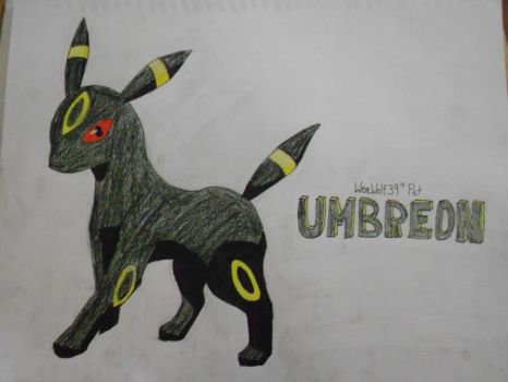 Umbreon - Request complete by snoopysoap