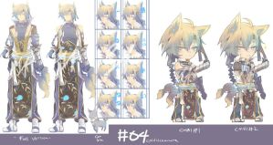 04-(closed adoptable)-Cold Nekomata-(Left) by Re-SilverFlare