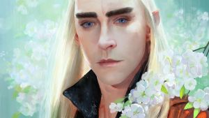 King Thranduil by tinyyang