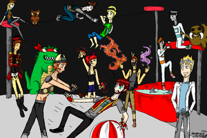 Yogscast circus colour by imthederpyfox