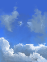Clouds by bluesungfruit