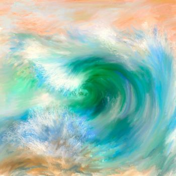 the big wave by Anotheroutsider