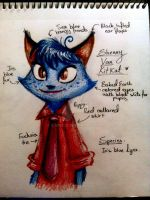 Zootopia: Shenny Van KitKat (notes) by Shenbug