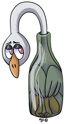 Bottle Goose by Angry-Baby