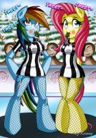Winter Games Referees by XJKenny