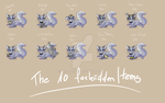 The 10 forbidden Items by JB-Pawstep